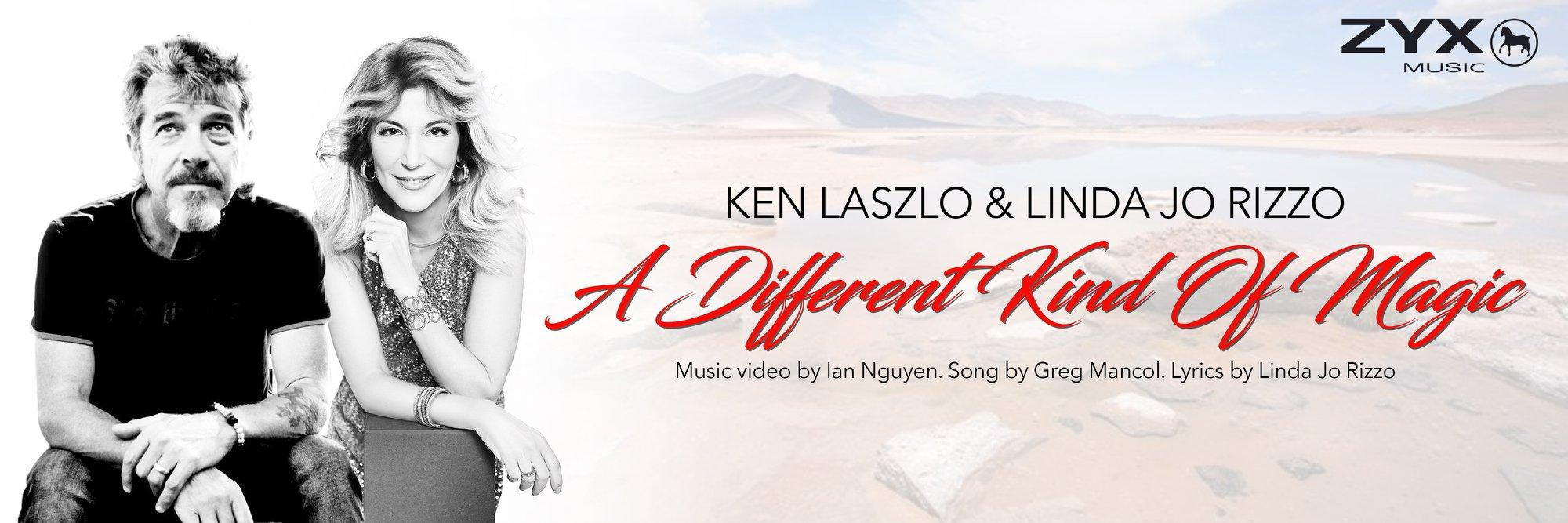 Ken Laszlo & Linda Jo Rizzo - A Different Kind Of Magic