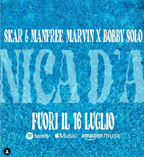 Skar & Manfree feat. Marvin x Bobby Solo - Domenica D'Agosto
